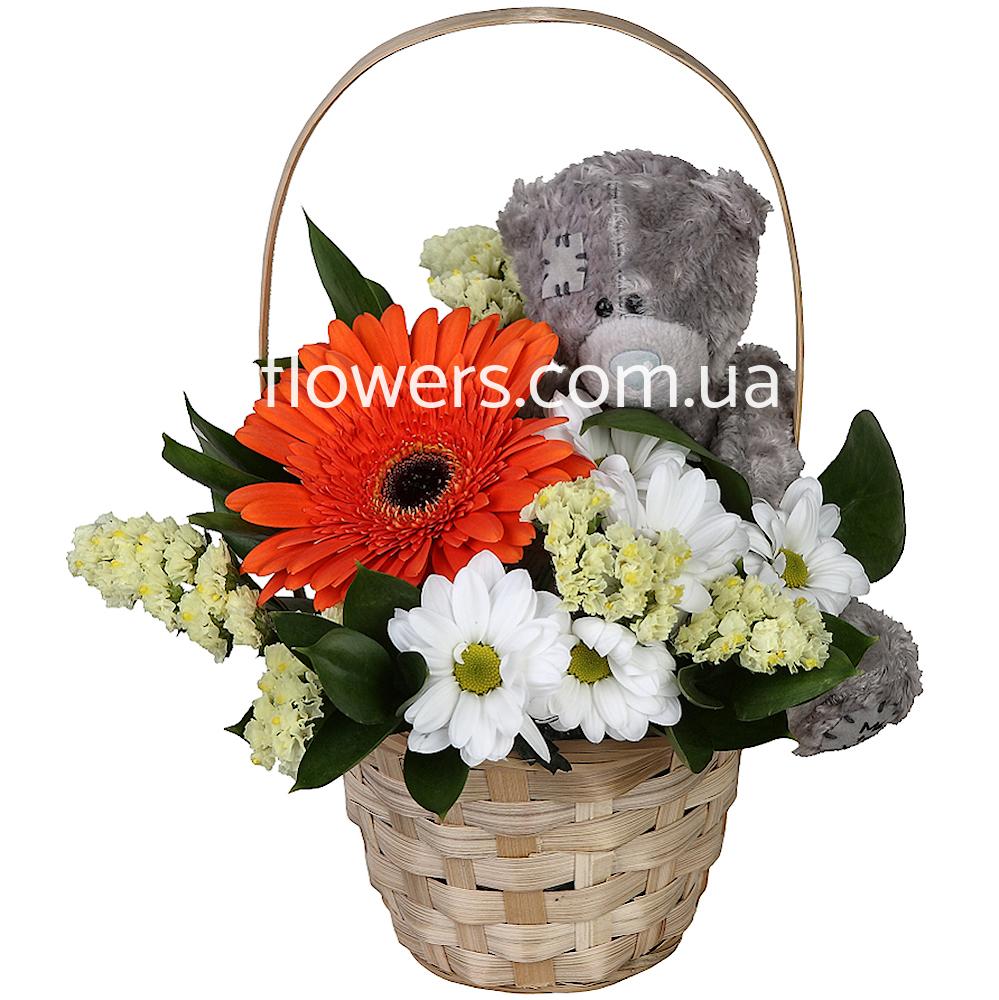 Герберы композиции из цветов купить на день рождения букеты ромашек