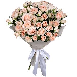 Букет из  кустовых роз с доставкой в Киеве