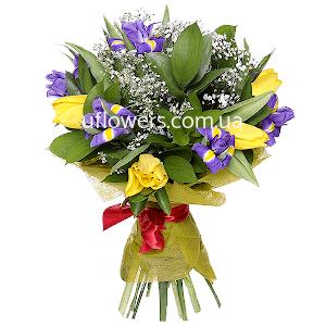 Доставка цветов на 8 е марта женский день свадебный букет из пионов заказать в киеве